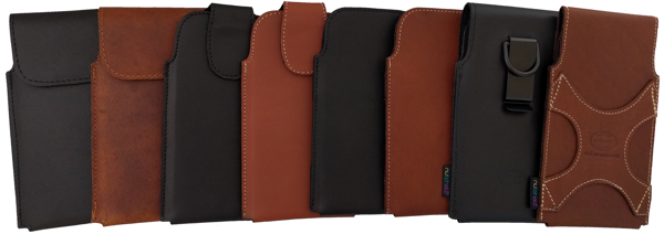 Nutshell leather smartphone holsters - the Ultimate protection