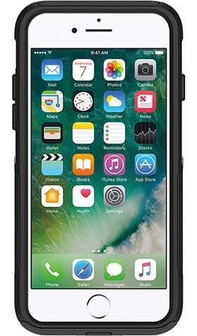 Apple iPhone 6 / 6s / 7 / 8 in Otterbox Commuter Smartphone Holster - Nutshell