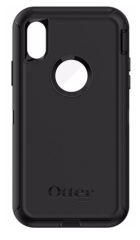 Apple iPhone x in Otterbox Defender Smartphone Holster - Nutshell