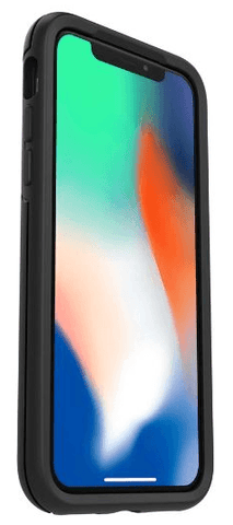 Apple iPhone X in Otterbox Symmetry Smartphone Holster - Nutshell