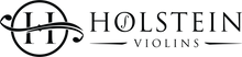Holstein Violins logo, representing high quality hand made string instruments such as violins, violas and cellos.