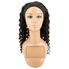 Load image into Gallery viewer, Deep Wave Headband Wig