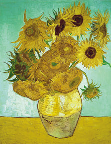 Masterpiece Puzzle for Young Children: Still Life Vase with Twelve Sunflowers: Van Gogh