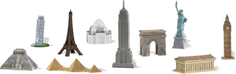 Replicas: Around the World Mini Landmarks Sets