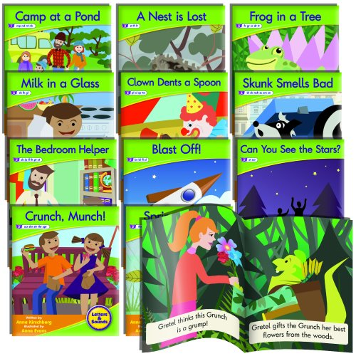 5Montessori Phonics Readers: Blends Fiction Set/12