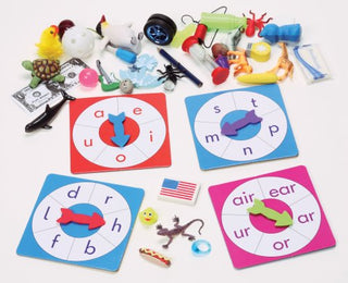 Phonics Spinners & Objects Kit