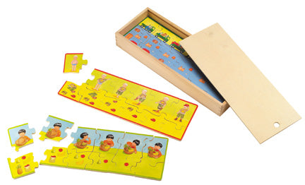 Sequencing: Step-by-Step Wooden Puzzle Set/6
