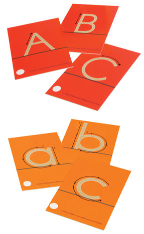 A-Z Lower & Upper Case Sandpaper Letter Set