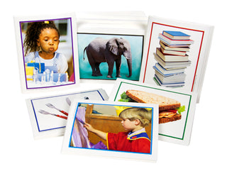 Language Cards: Grammar Photo Collection: Nouns, Verb, Adjectives