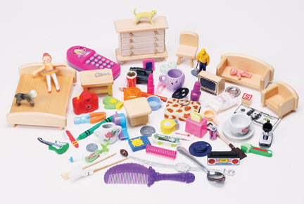 Around the House Objects Language Learning Kit (Over 60 objects!)