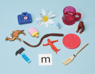 Articulation Kit: Objects and Laminated Letters for Forming Sounds