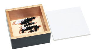 Bead Stairs: Black & White Stair Set 1-9 with Box -M7794