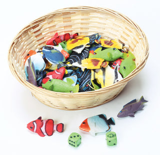 Fish Counting & Adding Minis & Dice