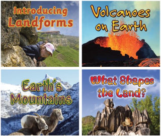 Earths Wonders: Introduction to Landforms Series/4