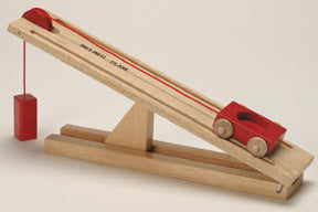 Simple Machine: Wood Inclined Plane Model