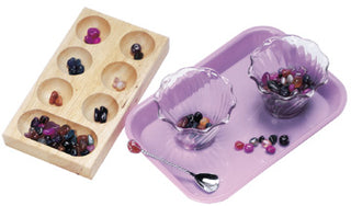 Tumbled Stones Spooning & Sorting Kit