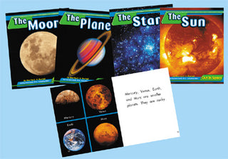 Solar System: Out in Space Book Series Set/4