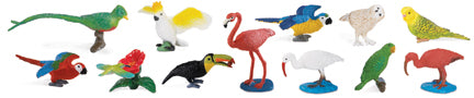 Replicas: Exotic Birds Around the World