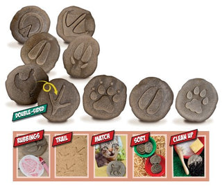 Animals &  Footprints: Farmyard Sensory Stones Set