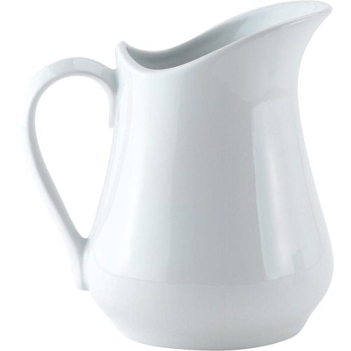 Pitcher: Porcelain 16 oz. BLOW OUT SALE