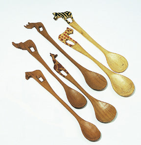 African Animal Spoon