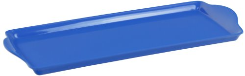 Tray: Extended Handles Blue Melamine