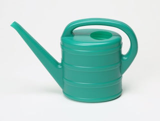 Green Plastic Child-Sized Watering Can