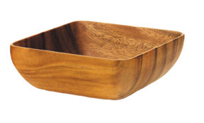 Bowl: Wood Square South Pacific Item# P6840