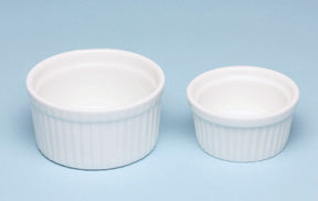 Bowl/Dish: 2 oz. or  4 oz. Melamine Ramekin Souffle Dishes