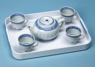 Pouring: Traditional Chinese Rice Pattern Tea Set Item# P7212K