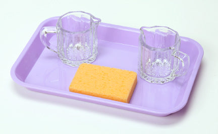 Basic Pouring Kit 3: (2 Clear Glass Creamers)