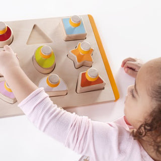 Toddler Shape Sorter with Grip Feature