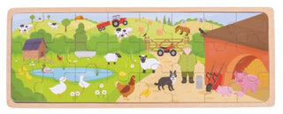 On the Farm Wooden Tray Puzzle