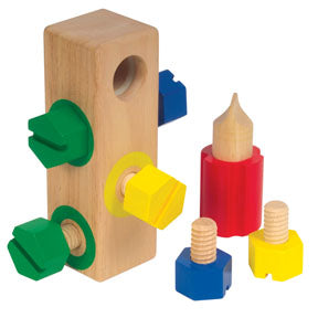 Hardwood Screw Block