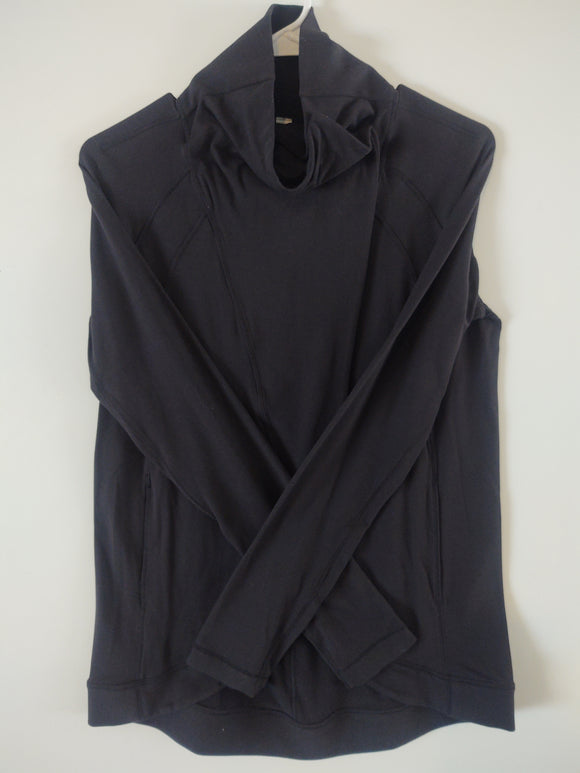 Lululemon Black Cardigan Sz 4