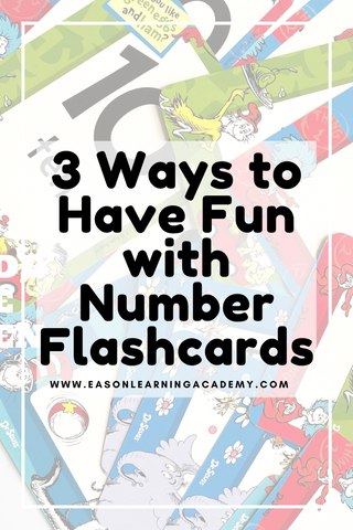 3 Ways to Have Fun with Number Flash Cards