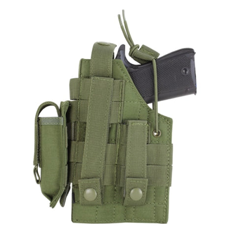 1911 AMBIDEXTROUS MODULAR MOLLE HOLSTER - OLIVE DRAB - Holsters and Scabbards - Condor Outdoor - Colonel Mustard
