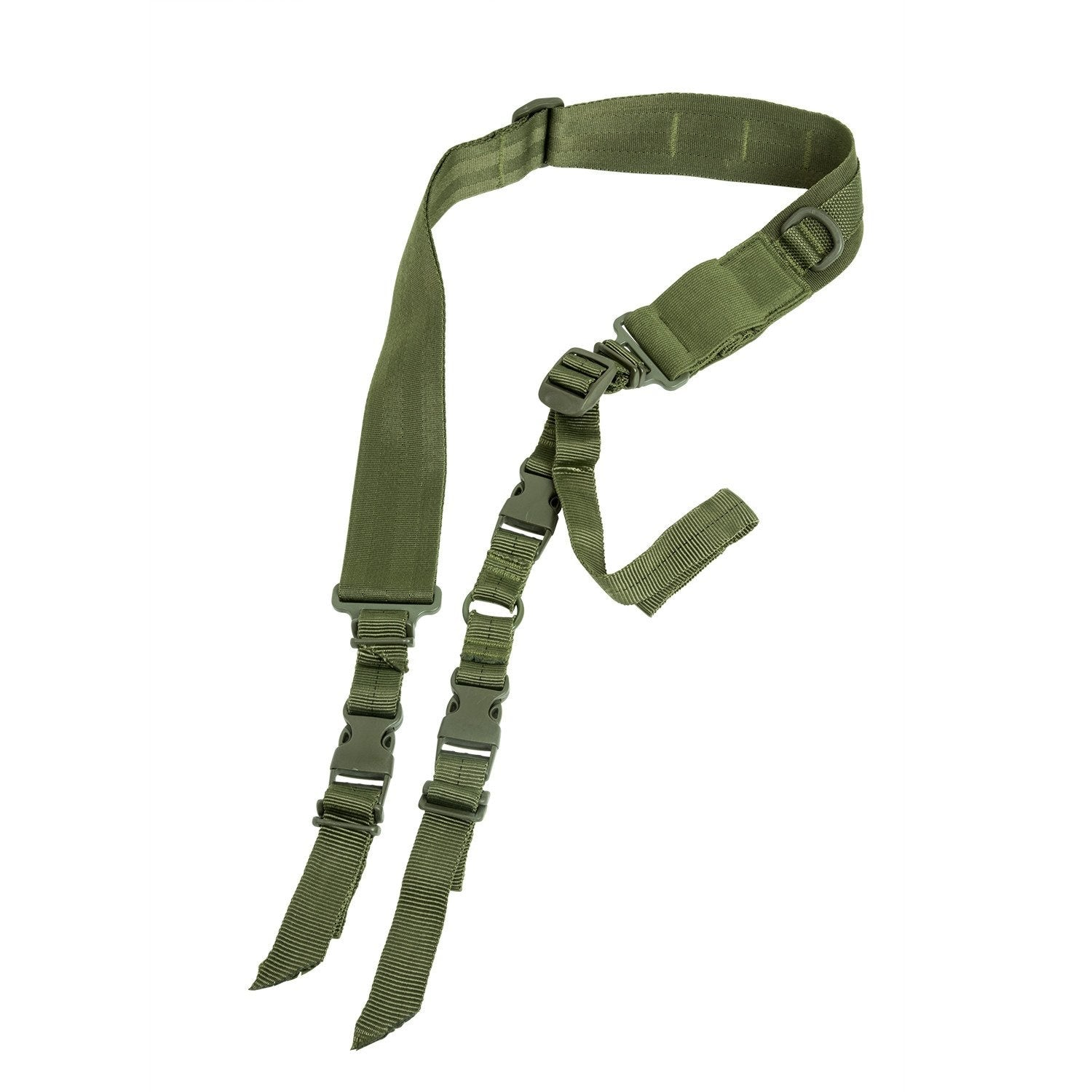 2 Point Tactical Sling - Green - Slings - Vism - Colonel Mustard
