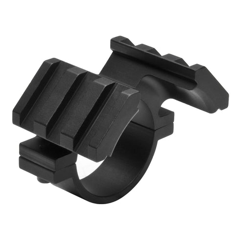 30Mm Double Rail Scope Adapter - Weaver - Mounting Systems - Ncstar - Colonel Mustard