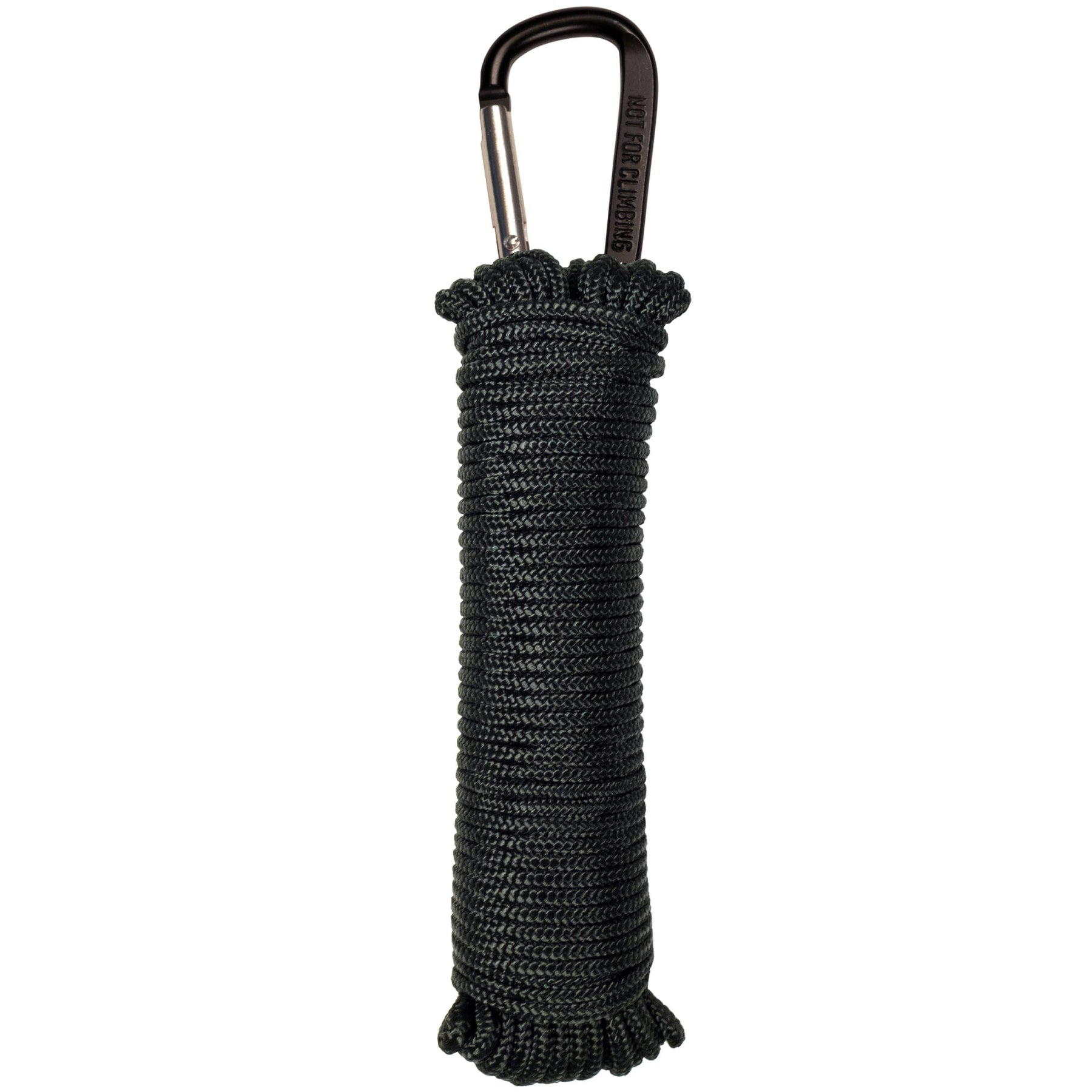 325 Paracord - 50 With Carabiner - Black - Outdoor Equipment - Mcnett Tactical - Colonel Mustard