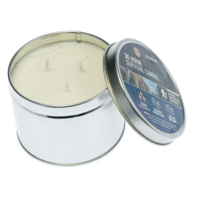 36 Hour Survival Candle - Outdoor Equipment - Se - Colonel Mustard