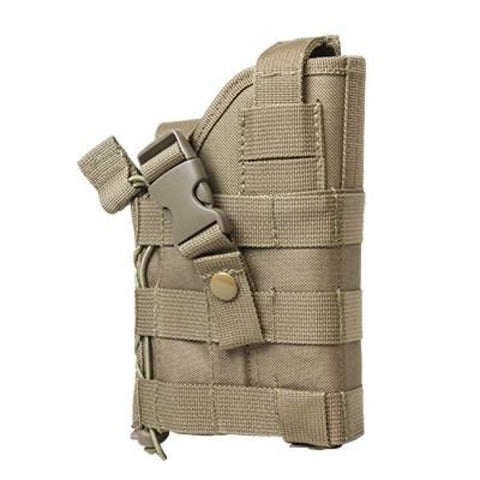 Ambidextrous Modular Molle Holster - Tan - Holsters And Scabbards - Vism - Colonel Mustard