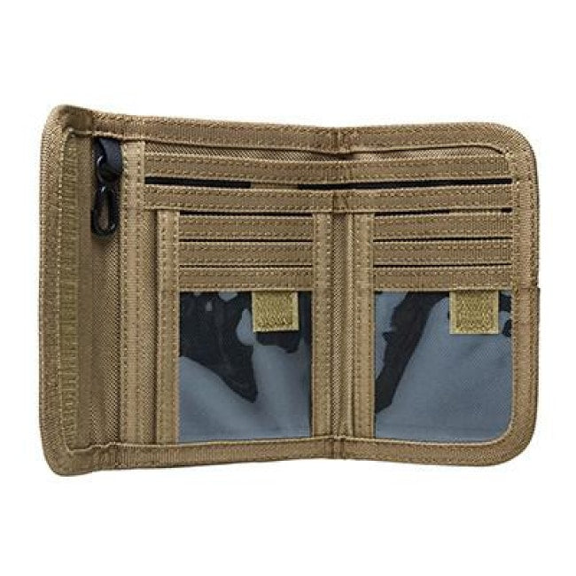 Bifold Wallet And Id Holder - Tan - Accessories/tools - Vism - Colonel Mustard