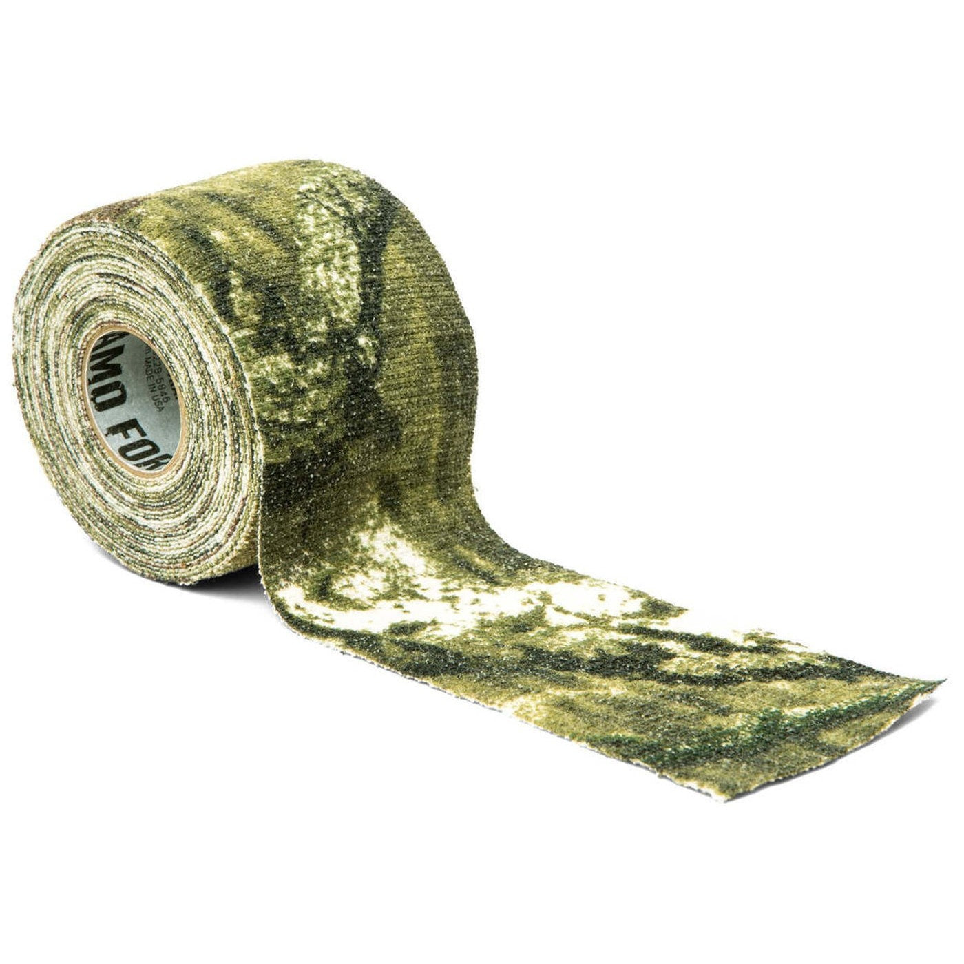 Camo Form Reusable Heavy-Duty Fabric Wrap - 2 X 144 - Mossy Oak Break-Up Infinity - Outdoor Equipment - Mcnett Tactical - Colonel Mustard