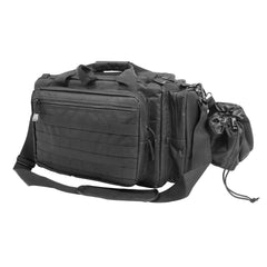 Competition Range Bag - Black - Range Bags And Accessories - Vism - Colonel Mustard