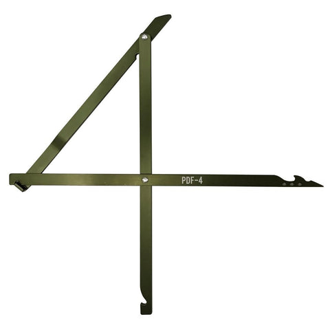 Deadfall Trap - Pathfinder Df-4 - Outdoor Equipment - Self Reliance Outfitters - Colonel Mustard