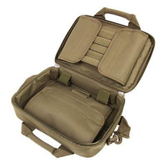 Deluxe Double Pistol Case - Tan - Pistol Cases - Vism - Colonel Mustard