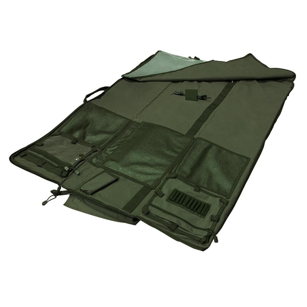 Deluxe Rifle Case (48) / Shooting Mat - Green - Rifle/carbine Cases - Vism - Colonel Mustard