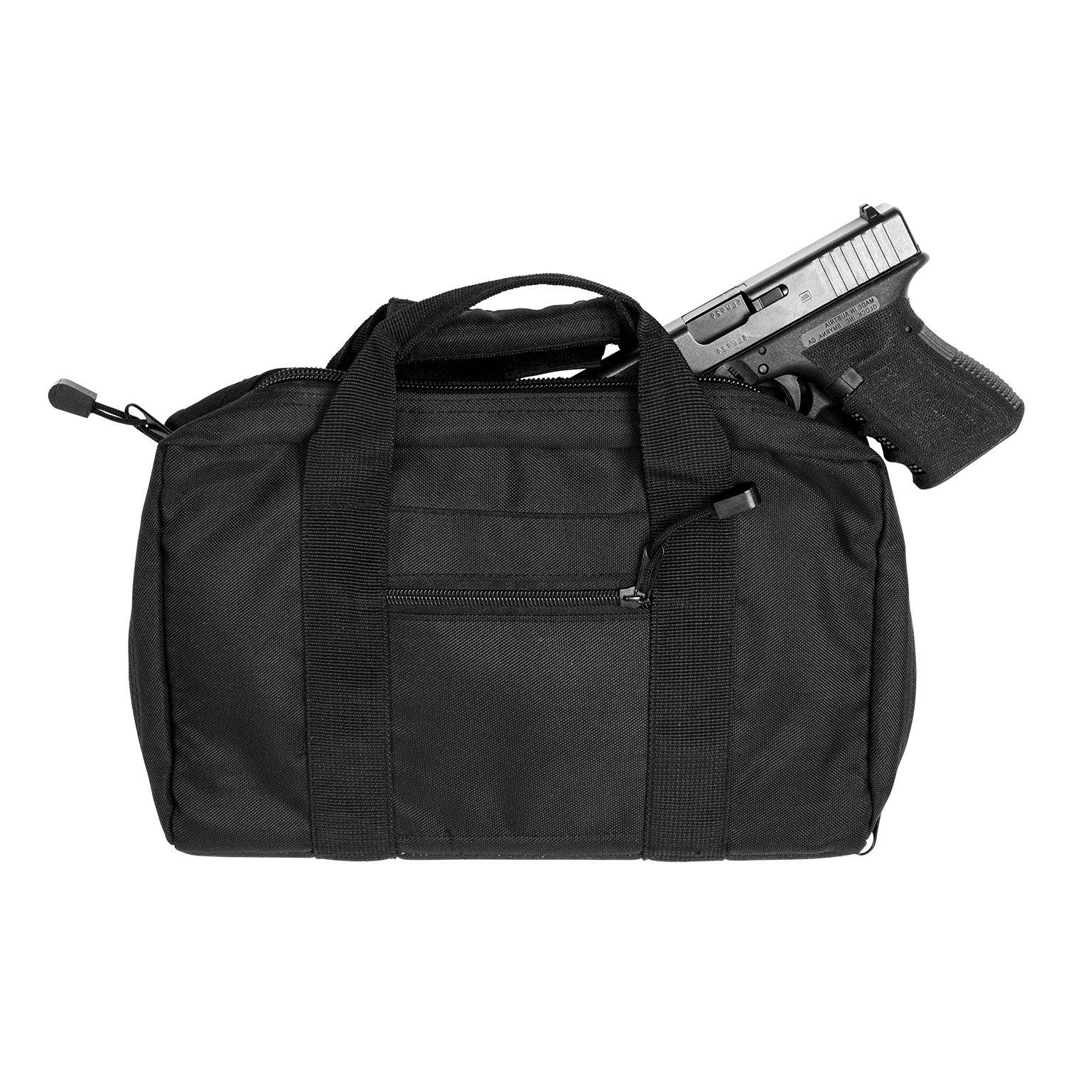 Discrete Double Pistol Case - Black - Pistol Cases - Vism - Colonel Mustard