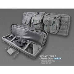 Double Carbine Case 36 - Urban Gray - Rifle/carbine Cases - Vism - Colonel Mustard